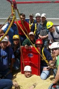 Grain Entrapment Rescue Training