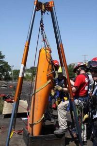 standby rescue teams